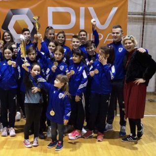 17 medalja, 4 ekipna plasmana i 3. sveukupno mjesto  za Taekwondo klub DIV Kningall-6