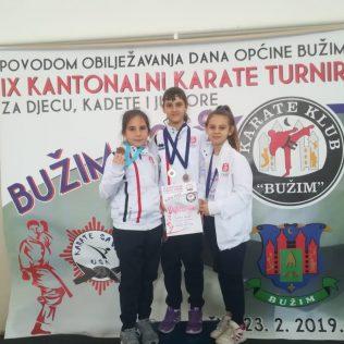 Nove četiri medalje za Karate klub Kningall-1