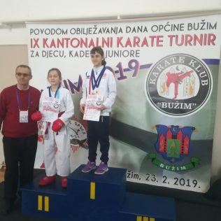 Nove četiri medalje za Karate klub Kningall-2