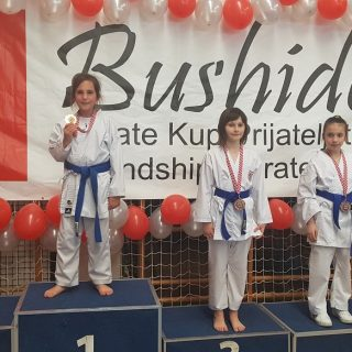 Zlato Mie Paškalj i bronca Sare Tucaković na Karate turniru u Zagrebugall-1