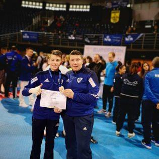 Mateo Pratljačić brončani na Europskom klupskom prvenstvu u taekwondougall-2