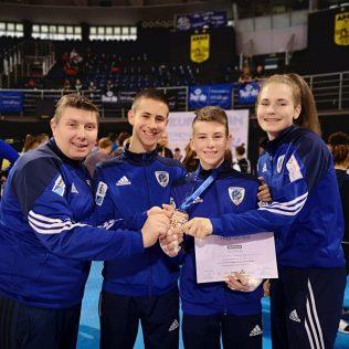 Mateo Pratljačić brončani na Europskom klupskom prvenstvu u taekwondougall-3