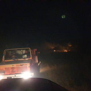 Foto: Požar kod bivše vojarne u Pađenimagall-3
