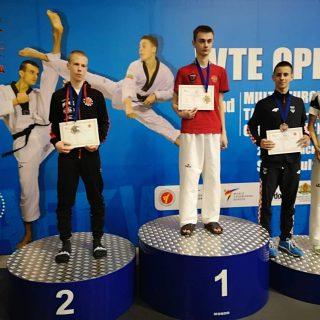 Brončana medalja za Josipa Teskeru na G1 multi europskim taekwondo igrama.gall-0