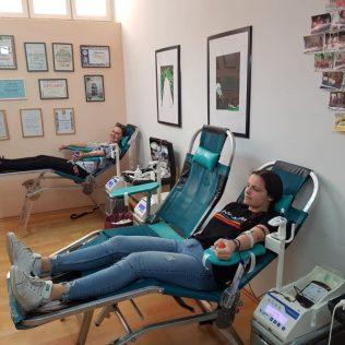 Akcija darivanja krvi: Prikupljene 62 dozegall-0