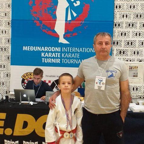 Kup Jadrana: Pet medalja Karate kluba Tigar; Zlato i srebro za Ivana Krvavicugall-0