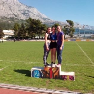Pet medalja kninskih atletičara i atletičarki u 2. kolu Dalmatinske ligegall-7