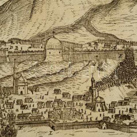 Pogledajte do sada neobjavljeni crtež (gravuru) opsade Knina iz 1688. godinegall-0