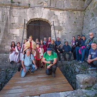 Fotoklubovi Knin, Šibenik i Murter na tvrđavi slikali Vitezove kralja Zvonimiragall-2