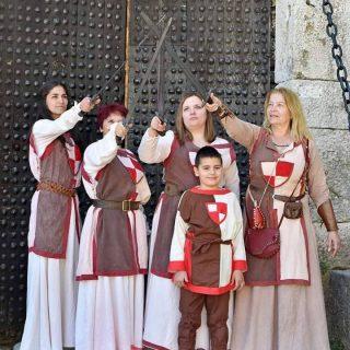 Fotoklubovi Knin, Šibenik i Murter na tvrđavi slikali Vitezove kralja Zvonimiragall-6