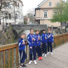 Lea Grbavac zlatna te na korak do Europskog kadetskog prvenstva; 6 medalja za Divovcegall-2