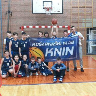 Dvije pobjede Košarkaškog kluba Knin u Šibenikugall-0