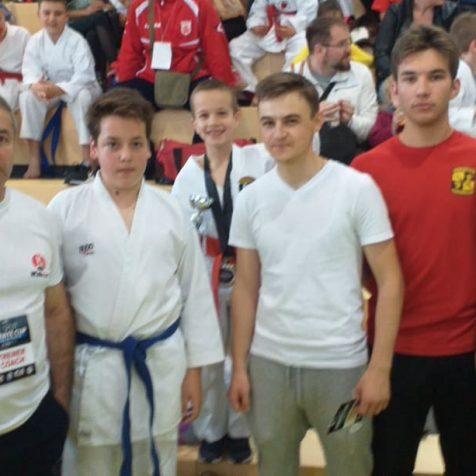 Četiri medalje Karate kluba Tigar na Kupu Dalmacijegall-0