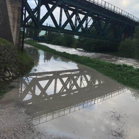 Opet poplavio put do kuća kod Bulinoga mostagall-1