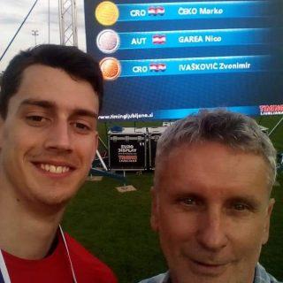 Marko Čeko i Daniela Jelić – zlata i osobni rekordi u Sloveniji i Splitugall-0