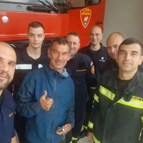 Europski Forrest Gump u Kninu: Pješke obišao 31 državugall-1