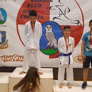 Eberhart pobijedio državnog prvaka na Karate Kupu Krkagall-3