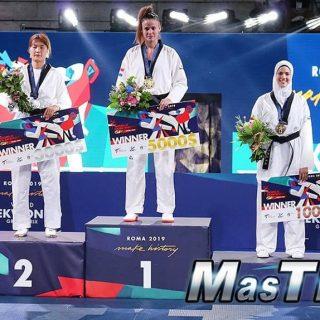 Matea Jelić osvojila zlato na Grand Prix-u u Rimu i 40 bodova u utrci za Tokiogall-1