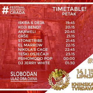 Danas i sutra na tvrđavi King Fest; Psihomodo pop večeras točno u ponoćgall-1