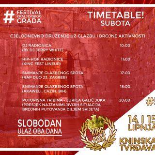 Danas i sutra na tvrđavi King Fest; Psihomodo pop večeras točno u ponoćgall-2
