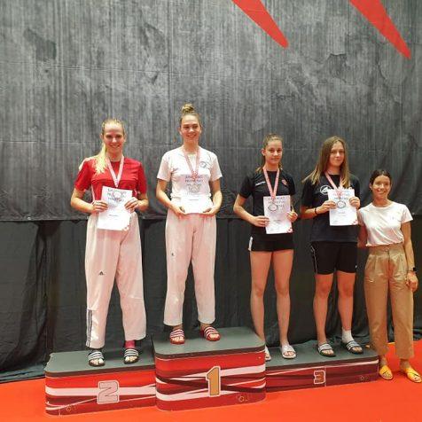 Prva juniorska državna medalja za TK Olympic: Ela Jelić brončanagall-0