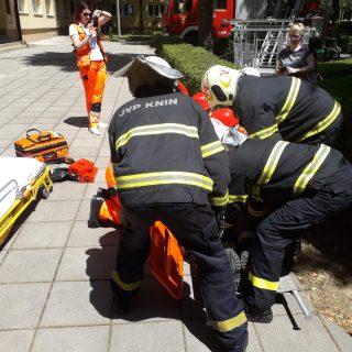 Održana vježba evakuacije i spašavanja u prostorijama Gradske upravegall-1