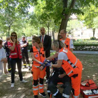 Održana vježba evakuacije i spašavanja u prostorijama Gradske upravegall-4