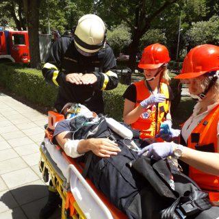 Održana vježba evakuacije i spašavanja u prostorijama Gradske upravegall-2
