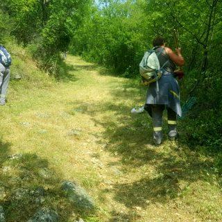 Foto vijest: Vrijedni radnici krče Spas i tvrđavugall-7