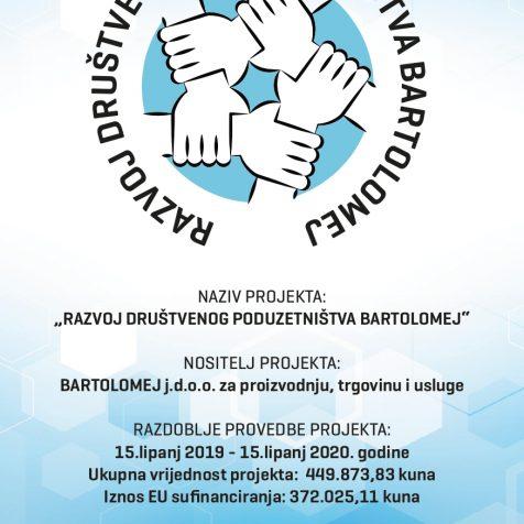 """Održana početna konferencija projekta """"Razvoj društvenog poduzetništva Bartolomej""""gall-1"""