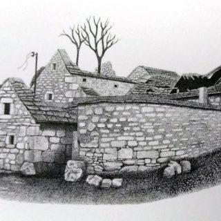 U petak na tvrđavi izložba crteža Špire Dmitrovića: Biskupija – 330 godina poslijegall-1