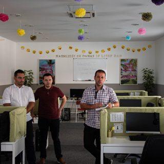 Otvoren Aloha Online – pozivni centar za partner tvrtku Optima Telekom s pet zaposlenih; Plan je daljnje zapošljavanje, a zainteresirani se već  sada mogu javitigall-1