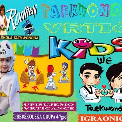 Taekwondo klub DIV Knin upisuje vrtićku skupinu: Učimo i Igrajmo se!gall-0