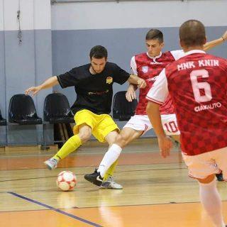Pobjeda MNK Knina; U subotu igraju za finale Županijskog kupagall-1