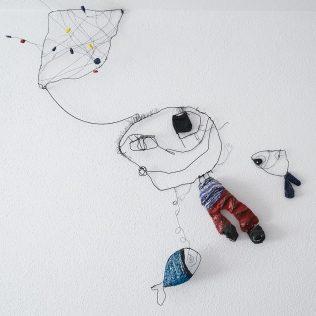 """U petak na tvrđavi predstavljanje slikovnice """"Mjesečar – Poezija Antuna Branka Šimića kroz dječju likovnu igru"""" te izložba instalacija """"Oda Životnoj radosti""""gall-1"""