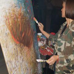 Za vrijeme koncerta umjetnice slikale i poslale poruku – Pravda za djevojčicegall-2