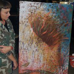 Za vrijeme koncerta umjetnice slikale i poslale poruku – Pravda za djevojčicegall-4
