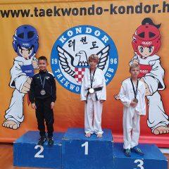 Pet medalja TK Oympic na Kondor Openugall-0
