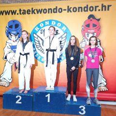 Pet medalja TK Oympic na Kondor Openugall-1