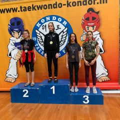 Pet medalja TK Oympic na Kondor Openugall-4