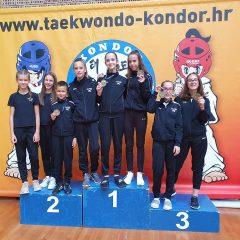 Pet medalja TK Oympic na Kondor Openugall-5