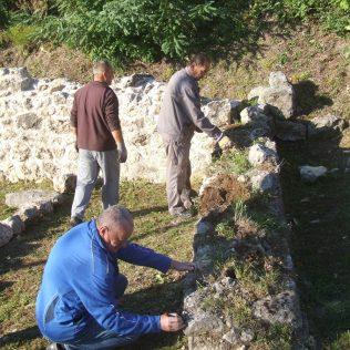 Završeni radovi konzervacije u podgrađu tvrđavegall-0