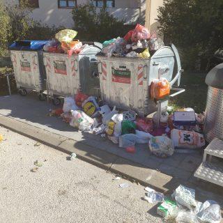 Problemi odvojenog prikupljanja otpada na području grada Kninagall-1