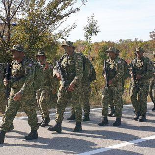 Dolaskom u Knin završena hodnja novih vođa Hrvatske vojskegall-2