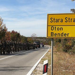 Dolaskom u Knin završena hodnja novih vođa Hrvatske vojskegall-3