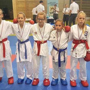 Šest medalja za Karate klub Knin na Dalmacija openugall-1