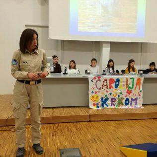 """Predstavljena slikovnica Čarobnog svijeta i NP Krka """"Čarolija s Krkom""""gall-1"""