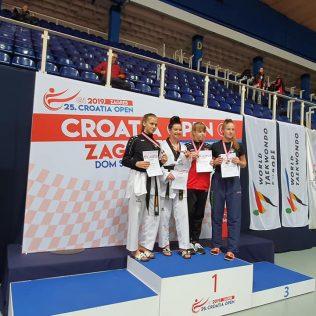 Tri medalje TK Olympica na G1 turniru Croatia Opengall-2