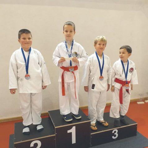 Četiri medalje karatista Tigra na Ploče Openugall-0