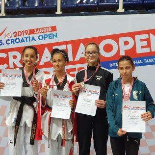 Tri medalje TK Olympica na G1 turniru Croatia Opengall-3
